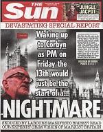 Corbyn's vilification: a master class by Tory press