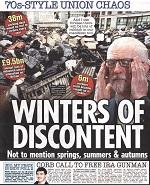 """Trade unions braced for """"winter of discontent"""" headlines"""