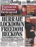 Tabloid press diverts attention from Conservatives' coronavirus failings