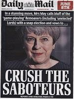 Hard Brexit being downplayed? A calculated pre-election strategy by Tory press